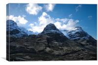 The Drama of Glencoe, Canvas Print