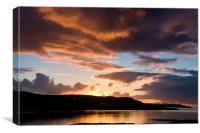 Isle of Skye Sunset, Canvas Print