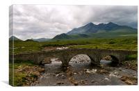 Sligachan, Isle of Skye, Scotland, Canvas Print