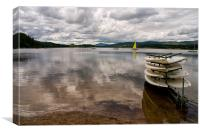 Loch Insch, Canvas Print