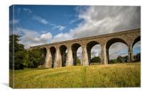 Railway Viaduct at Tomatin, Canvas Print