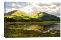Sallachy Bay, Loch Long, Canvas Print