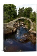The Old Carrbridge, Canvas Print