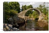 Carrbridge, Canvas Print