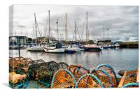 Harbour Nairn Scotland, Canvas Print