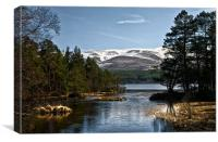 Cairngorm and Loch Morlich, Canvas Print