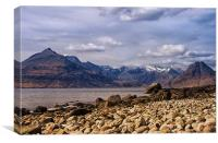 Cuillin View Scotland, Canvas Print