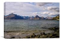 Elgol and the Cuillin, Canvas Print