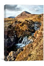 Isle of Skye Waterfall, Canvas Print