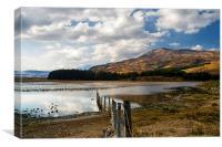 Loch Cill Chroisg, Canvas Print