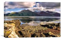 Loch na Keal Isle of Mull, Canvas Print