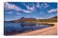 Loch Assynt View, Canvas Print