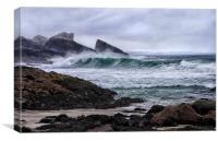 Wave Power, Canvas Print