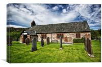 St Catherine's Church, Boot, Eskdale , Canvas Print