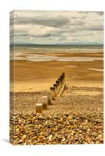 Findhorn Beach, Canvas Print