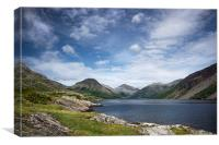 Wastwater Lake Cumbria , Canvas Print