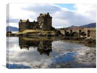 Eilean Donan Castle Scotland, Canvas Print