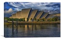 The Armadillo, the SECC, Clyde Auditorium, Glasgow, Canvas Print