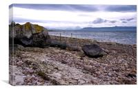 Shorelines at Applecross Scotland, Canvas Print