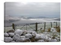 Loch Ruthven in Winter, Canvas Print