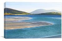 Luskentyre Bay, Isle of Harris, Canvas Print