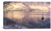 Peace on Loch Leven, Canvas Print