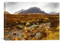 Buachaille Etive Mor, Glencoe, Scotland, Canvas Print