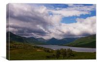 Loch Arklet, Canvas Print