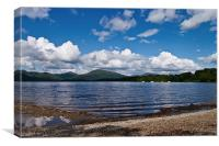 Clouds Over Loch Lomond, Canvas Print