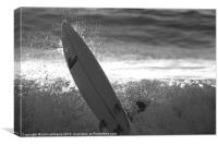 Surfboard, Canvas Print