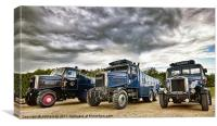 Scammell Family, Canvas Print