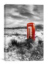 The British  Phone  Box, Canvas Print