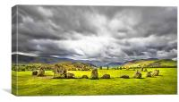 Stone Circle At Castlerigg, Canvas Print