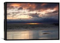 North Sea at Dawn, Canvas Print