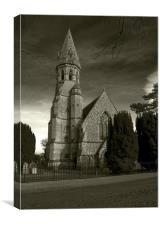 Framigham Pigot Church, Canvas Print