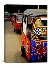 Jakartan Style!, Canvas Print