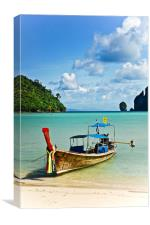 Thailand Boat, Canvas Print