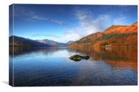 Colours of Lomond, Canvas Print