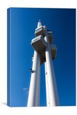 Žižkov Television Tower, Canvas Print