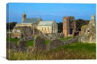 Lindisfarne Priory on the Holy Island