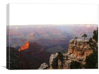 Grand Canyon, Canvas Print