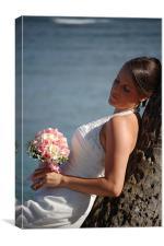 Waikiki Wedding, Canvas Print