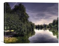 London Park, Canvas Print