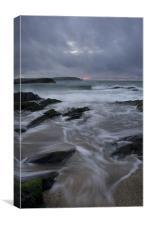 Evening Tide, Canvas Print