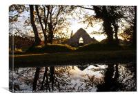 Bonamargy Priory, Ballycastle, Canvas Print