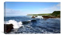 Fair Head in Ballycastle, Canvas Print