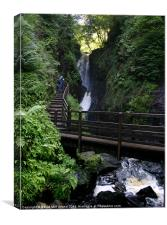 Glenariff Waterfall, Canvas Print