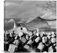 Mourne Rock, Canvas Print