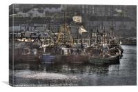 Ardglass Fishing Fleet, Canvas Print