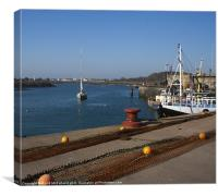 Ardglass Harbour, Canvas Print